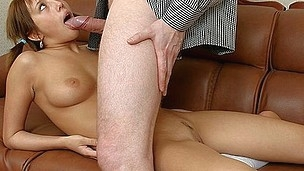 Youthful Chick In Unfathomable Mouth Fur Pie Fuck