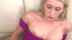 Lilly Swallows A Mouth Load of Jizz