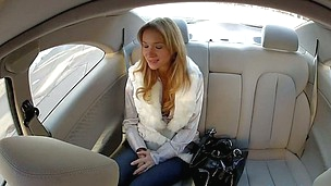 Steamy molten car fucking pleasures for sweet Angelina